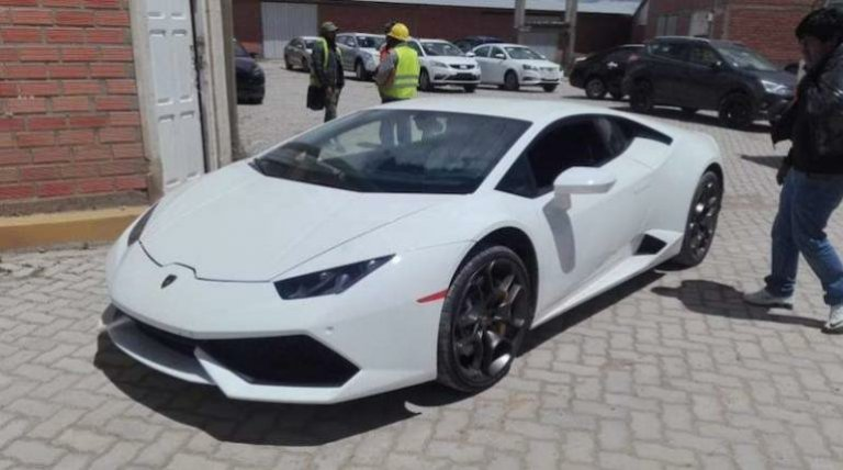 Lamborghini en el Chapare